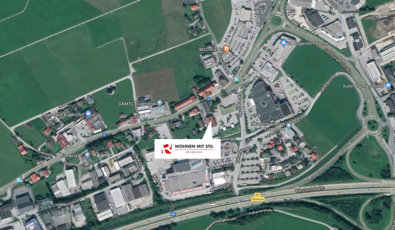 Lage - Wohnen mit Stil, Geschäft in Eugendorf